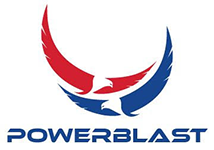 PowerBlast Gas Canopy Island Repair Coating Logo